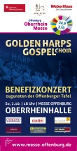 Flyer Benefizkonzert Messe OG